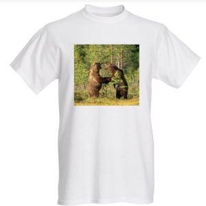 Karhunpaini t-paita valkoinen L Fruit of Loom