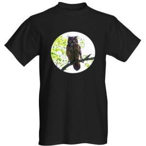 huuhkaja t-paita musta