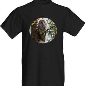 viirupöllö t-paita